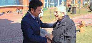 Devlet Sanatçısı Prof. Dr. Alaeddin Yavaşça, 7 Aralık Üniversitesini ziyaret etti