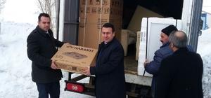 Erzurum'dan Çat'a uzanan yardım eli