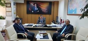 Başkanlar İŞKUR Müdürü Tozan'la istihdam konularını masaya yatırdı