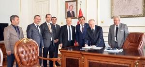Okul yapımına ilişkin protokol imzalandı