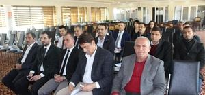 Turizm sektöründe kayıtlı istihdamın teşviki konulu toplantı yapıldı