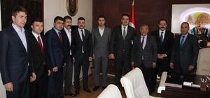 Ülkü Ocaklarından Uçhisar Belediye Başkanı Karaaslan'a ziyaret