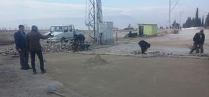 Musalaryeniköy'ün yolları yenileniyor
