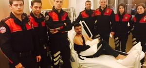 Yunus ekiplerinden Sofuoğlu'na ziyaret