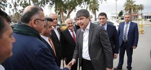 Başkan Türel, Havalimanı taksici esnafını ziyaret etti