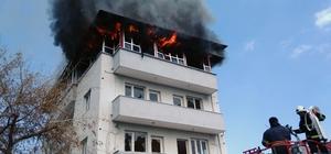 FETÖ'nün kapatılan kültürevi binasında yangın