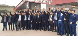 KSÜ Öğrenci Konseyi Başkanlığı'nı Hasan Demir kazandı