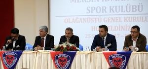 Mersin İdmanyurdu Kulübü'nün yeni başkanı Karak