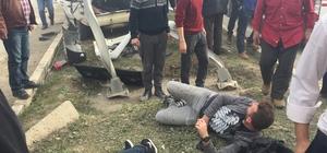 Düzce'de trafik kazası: 5 yaralı