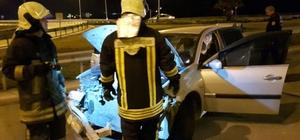 Denizli'de trafik kazası: 1 ölü, 5 yaralı