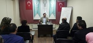 TDED Erzurum Şubesi'nde Kitap Mütalaaları başladı