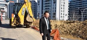 Başkan Doğan, park alanındaki çalışmaları inceledi