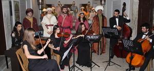 Osmanlı ve klasik batı müziğini buluşturan konser