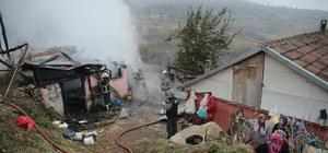 Kocaeli'de ahır yangını