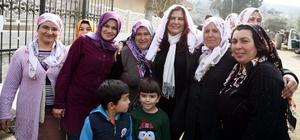 Başkan Çerçioğlu Mescitli keşkek hayrına katıldı