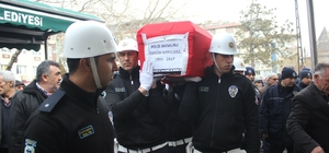 Trafik Kazasında Ölen Polis Memuru Toprağa Verildi