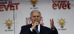 AK Parti'nin Kahramankazan mitingi