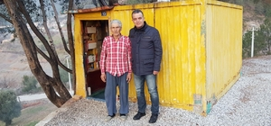 Büyükşehir'den barakada yaşayan yaşlı adama yardım eli