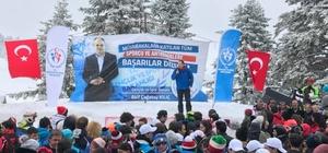 Uludağ kayak şampiyonalarının merkezi oldu