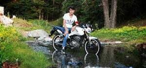 İskilip'te Motorsiklet Kazası: 1 Yaralı
