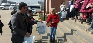 Suriyeli çocuklara anlamlı destek