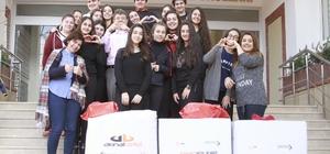 Gaziantep Kolej Vakfı öğrencilerinden örnek proje