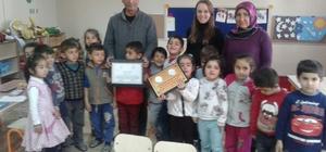 Malazgirt Anaokuluna beslenme dostu sertifikası verildi