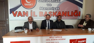 Saadet Partisi Şubat Ayı İl Divan Toplantısı
