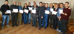 Eskişehir Anadolu Kültür Derneği eğitim faaliyetlerini sertifika töreni ile taçlandırdı