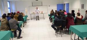 Lise öğrencilerinden Arsal Düzce Üniversitesi Tıp Fakültesine ziyaret