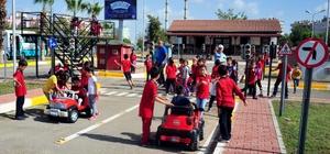 Kepez trafik eğitim parkuru 2. dönemde de devam ediyor