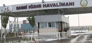 Iğdır'da uçak seferleri iptal edildi