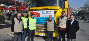 Zonguldak'tan Haleplilere 6 tır yardım