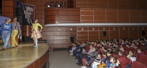 Büyükşehir Belediyesinde  çocuklar için tiyatro keyfi sürüyor