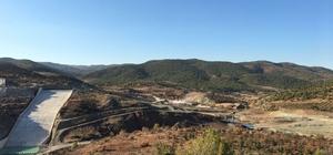 Yukarı Afrin Barajı'nda yüzde 27 fiziki gerçekleşmeye ulaşıldı