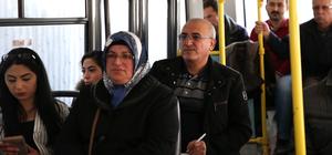 Kayseri'de toplu taşıma araçlarına sivil denetim