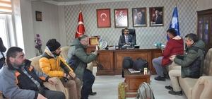 Başkan Adem Çalkın, referandum öncesi basınla buluştu