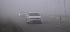 Kocaeli güne yoğun sis ile uyandı