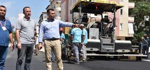 Alanya Belediyesi'nden asfaltlama çalışmaları