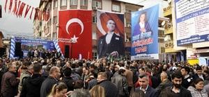 Başkan Çerçioğlu, Karacasu'da temel attı, müjde verdi