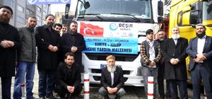 Düzce'den Haleplilere insani yardım