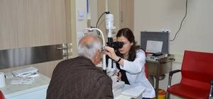 Niğde'de göz içi iğne tedavisine başlandı