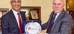 Vergi Dairesi Başkanı Aslan'dan Başkan Sekmen'e Ziyaret