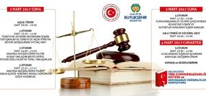Cumhurbaşkanlığı Sistemi ve Anayasa değişikliği ile ilgili sempozyum düzenlenecek