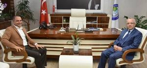 Meclis üyesi Uçak'tan Başkan Kayda'ya taziye ziyareti