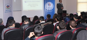 """Gençlere """"Sınav Kaygısı ve Baş Etme Yolları"""" semineri"""