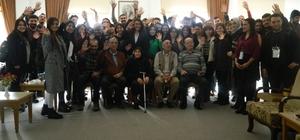 Sosyal hizmetler öğrencileri huzurevini ziyaret etti