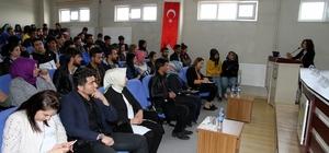 Hilvan MYO'da eğitim ve motivasyon konulu konferans düzenlendi