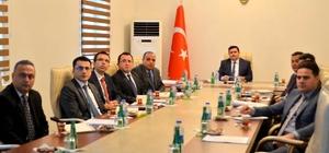 Erzincan'da halk oylamasına ilişkin alınacak tedbirler görüşüldü
