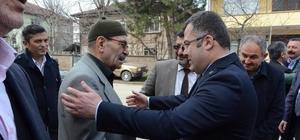 AK Parti Gümüşova'da esnafları ve muhtarları ziyaret etti